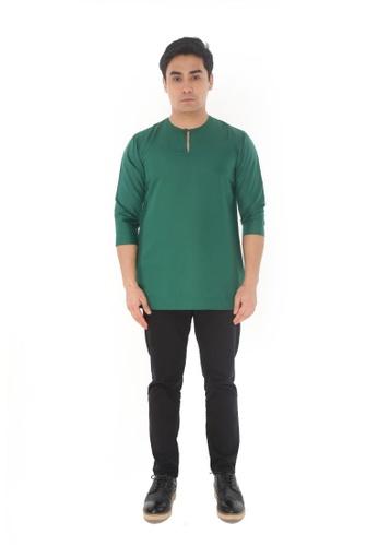 Amar Amran green Kurta Johor E86F9AA8B51E4EGS_1