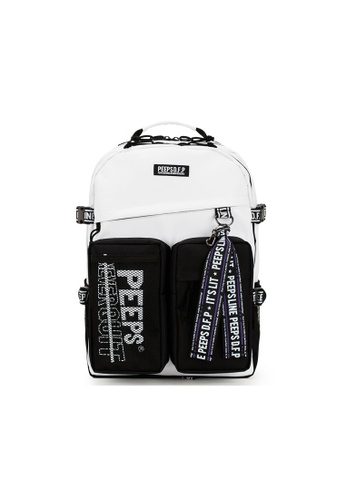 Peeps white Advance Backpack 34C2EAC4C2BF94GS_1
