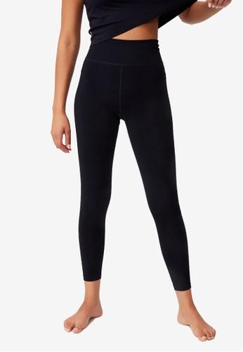 Cotton On Body black Lifestyle Seamless 7/8 Yoga Tights 209DDAAFE8771CGS_1