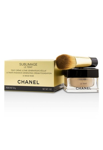 CHANEL CHANEL - Sublimage Le Teint Ultimate Radiance Generating Cream Foundation - # 32 Beige Rose 30g/1oz E3926BEC7BE422GS_1