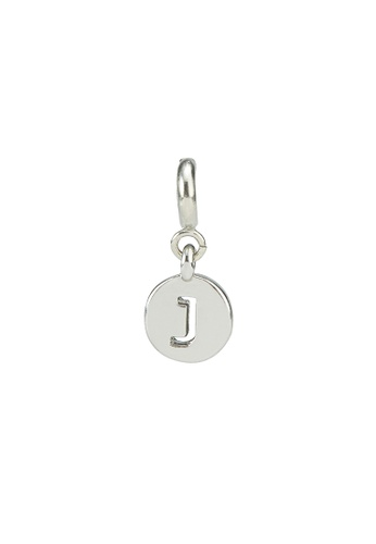 My Flash Trash silver Silver letter charm j 2F27CAC521DE70GS_1