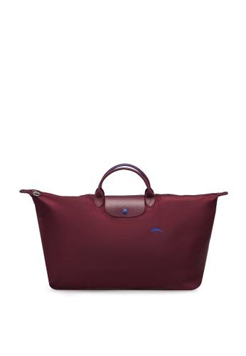 LONGCHAMP purple Le Pliage Club Travel Bag XL (zt) F16ACACE01B3A1GS_1