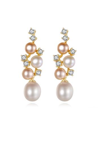 SUNRAIS silver High-grade colored stone silver fashion earrings 8A566AC3FA08D3GS_1