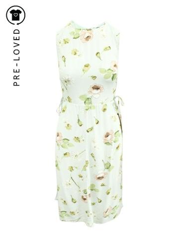 Reformation multi Pre-Loved reformation Feminine Floral Midi Dress 2903AAAE1B3E78GS_1