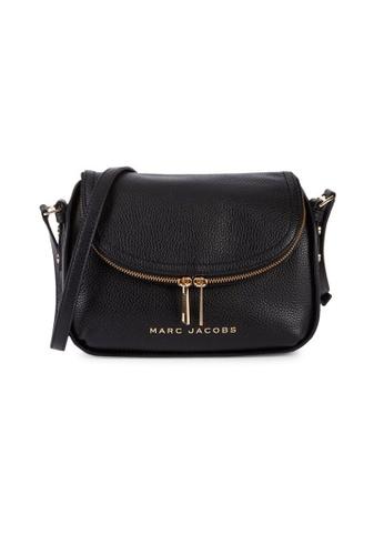 Marc Jacobs black Marc Jacobs The Groove Leather Mini Messenger Bag Black M0016932 6B7B4ACB48F77AGS_1