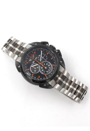 Mini black Chronograph Watch MI057AC29DCWHK_1