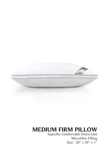 Grand Atelier white Grand Atelier Microfibre Down Feel Pillow 1800g 5BDE7HL192D5F7GS_1