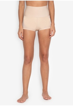3988d61f1f0e1 Maidenform beige Maidenform Shaping Boyshort With Cool Comfort  F088EAA4C2F2E2GS 1