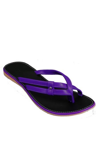 Beauty Shoes Flambe Beauty Sandals Purple