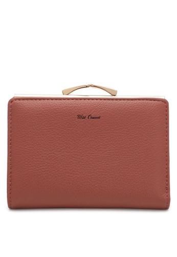 Wild Channel pink Women's Bi Fold Wallet D2566ACA83DEBBGS_1
