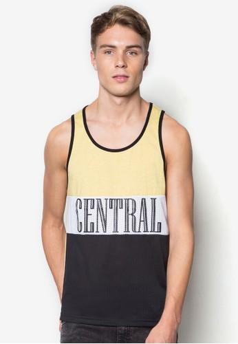文字多色背心, 服飾, esprit服飾T恤