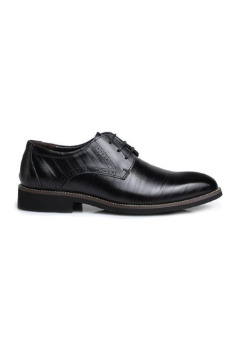 Kings Collection black Dixon Oxford Shoes KCCS2 B9CA4SHE9A99A4GS_1