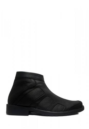 D-Island black D-Island Shoes New Office Slip On Zipper Smart Leather Black DI594SH54OBHID_1