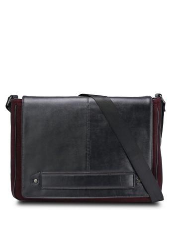 ZALORA black and red Essential Messenger Bag 467BFACD526CF5GS_1