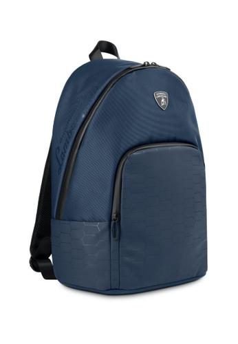 Lamborghini blue Automobili Lamborghini® LMBG3 Blue Backpack B4A78AC9A08A36GS_1