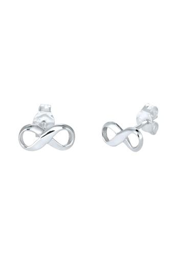 Elli Germany Silver 925 Sterling Infinity Earring Studs El474ac88flzmy 1