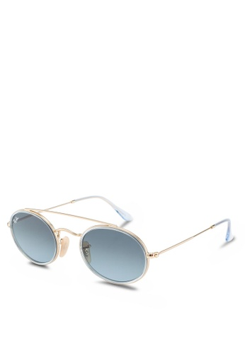 Ray-Ban 黑色 Ray-Ban RB3847N Sunglasses 3A852GL2409AC4GS_1