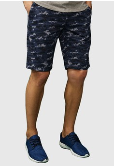 Pixelated Camo Army Shorts