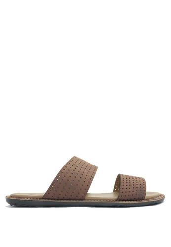 Dr. Kevin brown Dr. Kevin Men Sandals 17217 - Brown DR982SH0VF7MID_1
