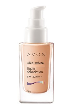 Avon Color Ideal White Liquid Foundation in Ivory Pink