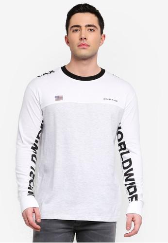 Cotton On white Tbar Long Sleeve T-Shirt 7C045AA97DCCFBGS_1