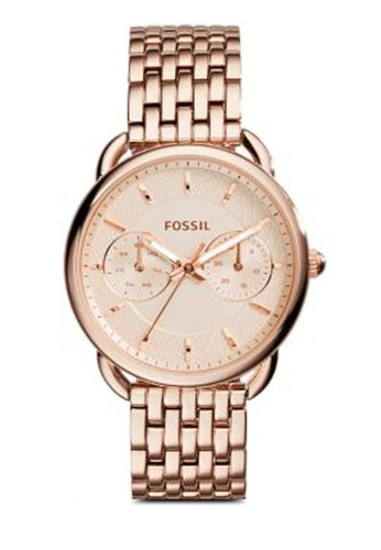Fossil gold Fossil Tailor Multi Function Stainless Steel Watch ES3713 FO164AC46NAZMY_1