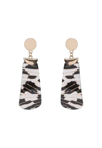 Rubi black and gold Melissa Animal Earrings 1DC8DAC343D5D4GS_1