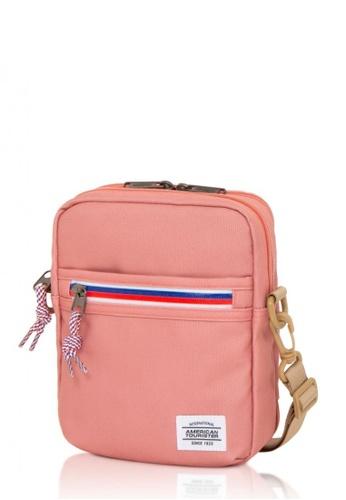 American Tourister pink American Tourister Kris Vertical Bag EC16AAC2223B1BGS_1