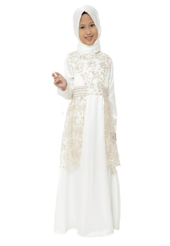 Princessa Flami white Muslim Anak Broken White F5B34KAAB37220GS_1