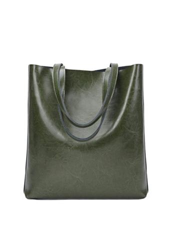 Twenty Eight Shoes green VANSA Simple Design Hand Bag VBW-Hb8823 5E4BFAC44C5264GS_1