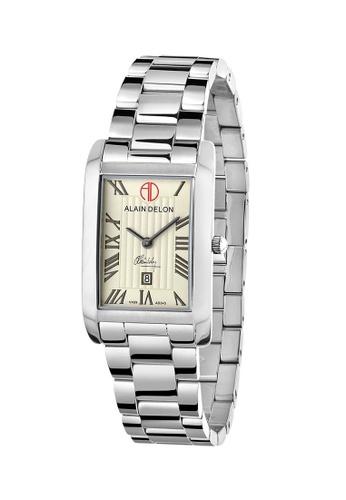 Alain Delon silver Alain Delon Women AD345-2321 Silver Stainless Steel Watch 9F312ACBA17BFDGS_1