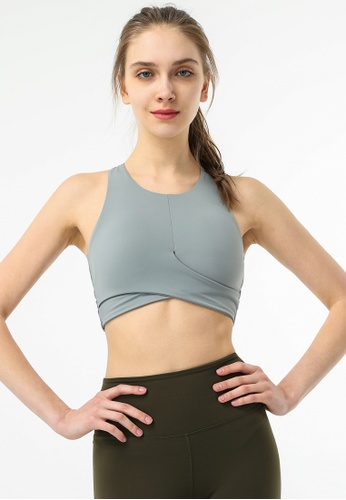 HAPPY FRIDAYS Women's Cross Yoga Sports Bras DSG205 572CEUS6B0824FGS_1