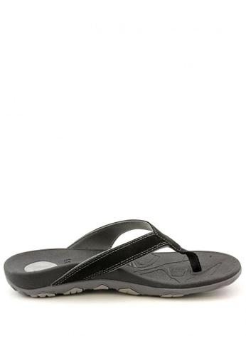 Vionic grey Bryce Toe Post Sandal VI552SH90PEVPH_1