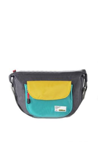 Sogno grey Sling Bag Montero MR 801 CC649AC83AA6AEGS_1