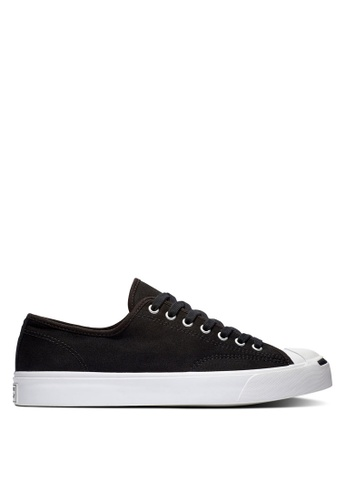 Converse black and white Jack Purcell Gold Standard 1st In Class Ox Sneakers 2EEE1SH0EE1C10GS_1