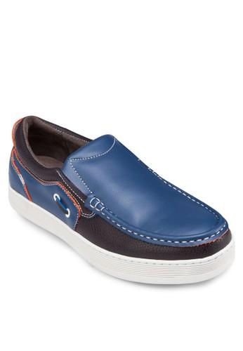 縫線拼接船型鞋, 鞋,zalora 評價 鞋