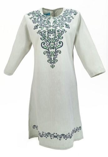 Versail green Versail Teen Tunic Bordir Bunga PR1050G 05B93KAE675F78GS_1
