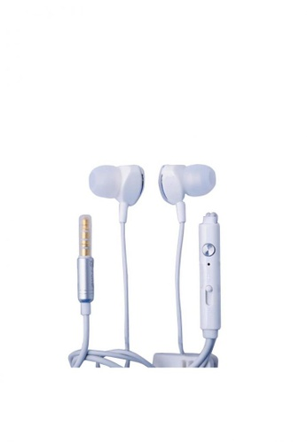 Stylebox white N-Power NP-E03 Subwoofer Wire In-Ear Headset 98417AC91B542BGS_1