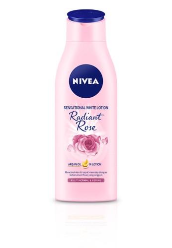 NIVEA n/a NIVEA Sensational White Body Lotion Radiant Rose 200ml 07E19ES7F02C8DGS_1