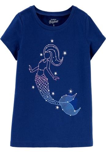 Oshkosh B'gosh navy OSH KOSH Girl Navy Mermaid Graphic Tee 873B2KA9BDE753GS_1