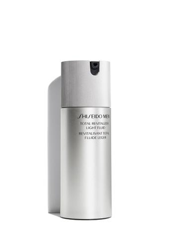 Shiseido grey Men Total Revitalizer Light Fluid, 80ml 224CEBE8CF8181GS_1