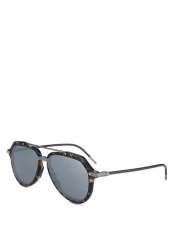 a4f96a44a4171 Dolce   Gabbana brown Dolce   Gabbana DG4330F Sunglasses 4C30DGL19FF960GS 1