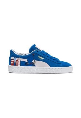 new style afe33 b3212 PUMA Sesame Street 50 Suede Sneakers JR 368923