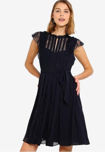 ffc8169cf76 Buy French Connection Eva Light Solid Beltd Dress Online on ZALORA ...