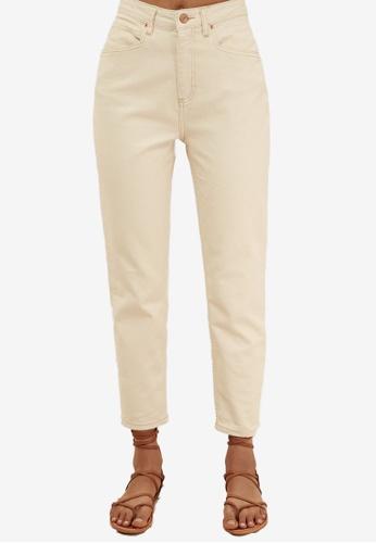Trendyol white Organic Cotton Mom Jeans 7D750AA9292D0FGS_1