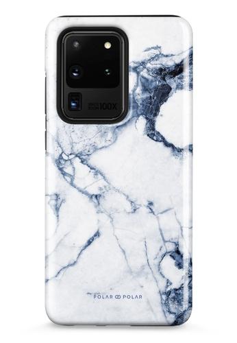 Polar Polar blue Indigo Vase Dual-Layer Tough Case Glossy For Samsung Galaxy S20 Ultra 5G 77363ACD79ADE5GS_1