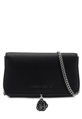 Calvin Klein black Phone Crossbody Lock Bag - Calvin Klein Jeans Accessories 32F47AC03E82DDGS_1