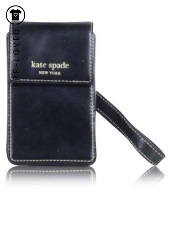 KATE SPADE black Pre-Loved kate spade Black Phone Case 5CA82ACDFDA69EGS_1