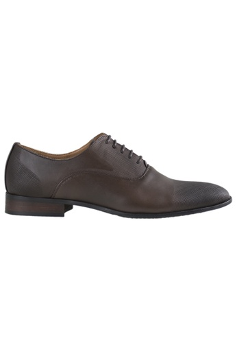 Tomaz brown Tomaz F141 Lace Up Formal (Coffee) AD09FSHD690DECGS_1