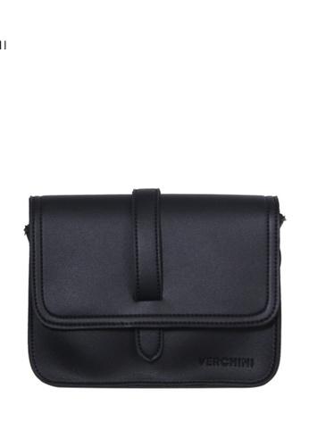 Verchini black Verchini Satchel Sling Bag 00A43ACFEAC84BGS_1